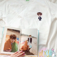 Pocket BTS chibi Jungkook T-Shirt (Design by Yoomint)