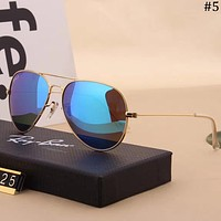 RayBan trend for men and women casual fashion anti-UV color film polarized sunglasses #5