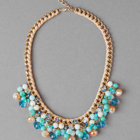 SOUTHAMPTON BEADED CLUSTER NECKLACE