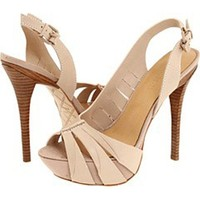Nude sandals, pumps and polish put a spring in your step