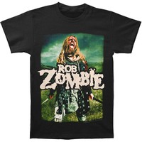 Rob Zombie Men's  Warrior T-shirt Black Rockabilia
