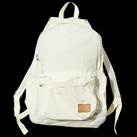 Nylon Packable Day Pack, White