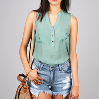 Adore Woven Blouse   Cute Tops at Pink Ice