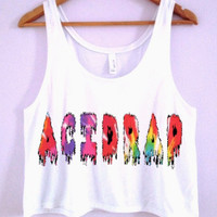 "Chance The Rapper ""ACIDRAP"" Crop-Top"