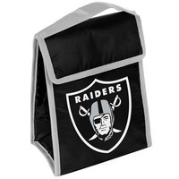 Oakland Raiders Official NFL Big Logo Velcro Lunch Bag