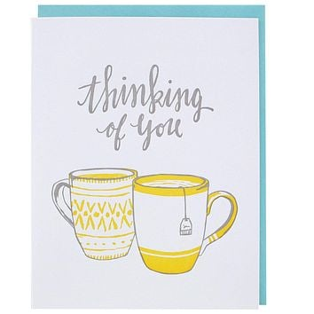 Teatime Thinking of You Card [Smudge Ink]
