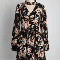 Im-Pressed Flowers Dress | Mod Retro Vintage Dresses | ModCloth.com