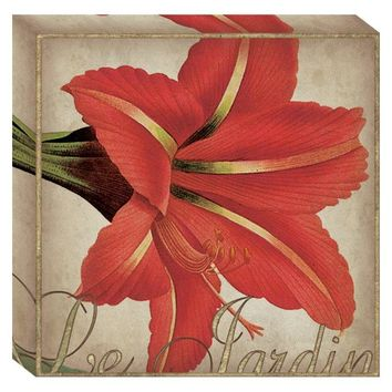 Le Jardin Canvas Wall Art (2069) - Illuminada