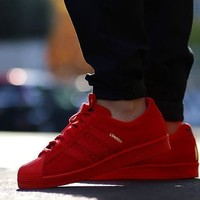 Adidas Originals Superstar City Pack Red Classic Sneaker Sprot Shoes