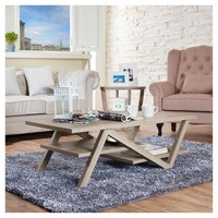 Benjamin Modern Architectural Inspired Coffee Table - Furniture of America