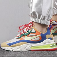 NIKE AIR MAX 270 REACT New fashion hook sports leisure shoes women