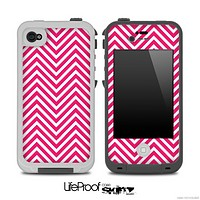 Pink Chevron Pattern for the iPhone 5 or 4/4s LifeProof Case