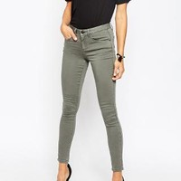 ASOS | ASOS 'Sculpt Me' Premium Jean In Sage Wash at ASOS