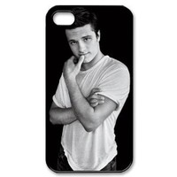 Fashion Josh Hutcherson Personalized iPhone 4 4S Hard Case Cover -CCINO