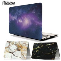 Alabasta Air 11 13 15 Reitna Rubberized Matte Hard Laptop Case Cover For Macbook Pro 13 15 Retina Air 11 13+ Free Keyboard Cover