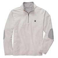 Nelson Quarter Zip Pullover in Grey by Southern Proper