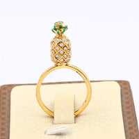 pineapple pattern summer fashion style lovely women and men gift = 4697503044