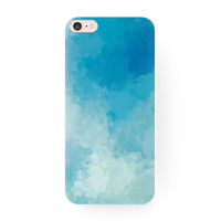 Creative Gradient Blue Sky Hard Case Cover for iPhone 6 7 7 Plus