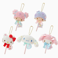 Cute Hello Kitty Melody Little Twin Stars Lollies Cinnamoroll Dog Candy Plush Keychain Bags Pendant Doll Accessories-in Movies & TV from Toys & Hobbies on Aliexpress.com | Alibaba Group