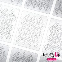 Whats Up Nails - Thorns Stencils