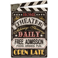 Home Theater MDF Wall Plaque | Hobby Lobby | 5695945