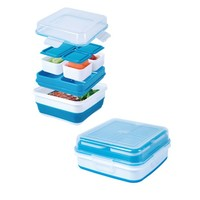 Cool Gear - EZ Freeze Collapsible Bento Box Lunch Container