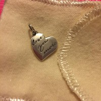 """""""Love You More"""" Charm   James Avery"""