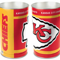 "Kansas City Chiefs 15"" Waste Basket"