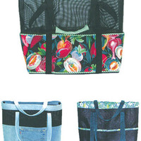 Tote Bag, Pattern,  Diaper Bag, Tote It by Nancy Ota
