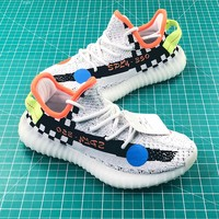 Off White X Adidas Yeezy 350v2 Boost Sport Running Shoes - Best Online Sale