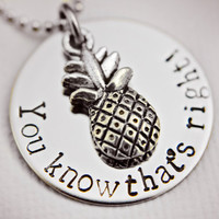 Hand Stamped You know that's right Psych by StampedMemoriesbyMel