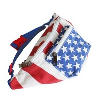 The 'Merica Fanny Pack | American Flag Fanny Pack | Rave Accessories