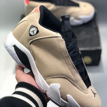 Nike Air Jordan 14 XIV Thunder AJ14 cheap Men's and women's nike shoes