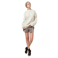 Ramey Back Drop Oversized Sweater - Jessica Faulkner