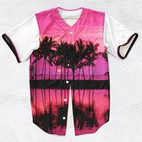 Palm Trees 3D Sublimation Print Jersey