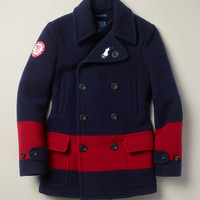 Team USA Ceremony Pea Coat