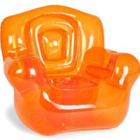 Bubble Inflatables Inflatable Chair, Tangerine Orange