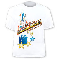 Practice Like A Champion Printed Youth and Adult Cheerleading Printed T-Shirt