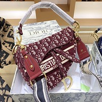 Dior Saddle Bag Fashion Trend Shoulder Bag