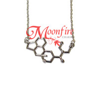 BREAKING BAD LSD Molecule Structure Necklace