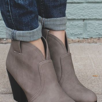 Wild Horses Booties - Taupe