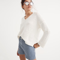 Breezeway Pullover Sweater : shopmadewell pullovers | Madewell