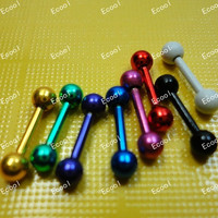 30Pcs Whole Jewelry Bulk Lots Labret Lip Body Pierce Nipple Navel Belly Eyebrow Bar Rings LR338 Free Shipping