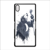 Wolf Song 3 Black Hard Plastic Case for Sony Xperia Z2 by Balazs Solti