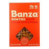 Banza - Pasta Chickpea Bowties - Case Of 6-7 Oz