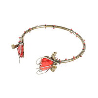 Disney Alice Through The Looking Glass Rose Thorn Cuff Bracelet