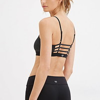 Low Impact – Caged-Back Sports Bra