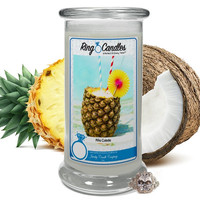 Piña Colada Ring Candle