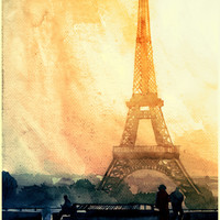 Paris Art Print by Takmaj