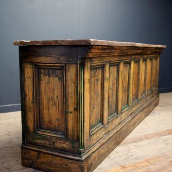 Green Bar, Antique Cabinets & Storage, Drew Pritchard